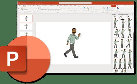 Pixton Microsoft Powerpoint add-in
