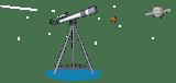 Telescope and stars